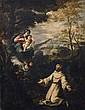 BARTOLOMÉ ESTEBAN MURILLO, follower of;  THE VISION OF SAINT ANTHONY