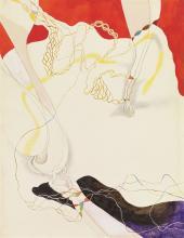 Carl Buchheister, Lamellen-Komposition, 1949