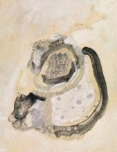 Carl Buchheister, Komposition P 32/51 (Kafka Komposition Nr. 2), 1951