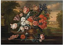 Jacob van Huysum , Flower Still Life