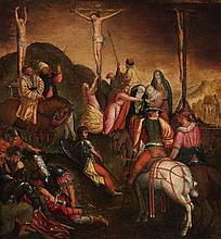 Pieter Lisaert, attributed to, Calvary