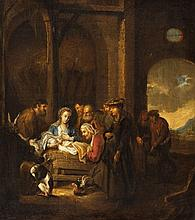 Ferdinand Bol, circle of, The Adoration of the Shepherds