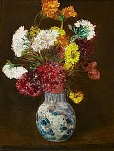 Jacques Edouard Dufeu, Floral Still Life