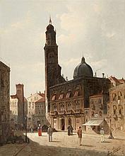 August von Siegen, The Old Town of Vicenza