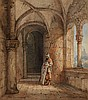 Georg Osterwald, Sentry by a Castle Gate, Georg Osterwald, Click for value