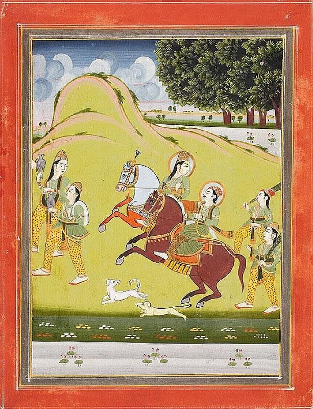 Anonymous. Rajasthan, Jaipur. Around 1850