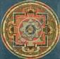 A 'thangka of Yama Dharmaraj  'mandala'. Tibet. 19th century or earlier