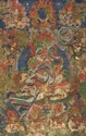 A Tibetan'thangka' of Vaishravana and the Eight 'yaksha' generals. 18th/19th century