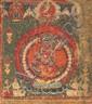 A thangka (paubha) of Vajravarahi. Nepal. Dated 1725