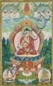 A Sino-Tibetan thangka of Buddha Shakyamuni, Qianlong period, probably 1779/1780