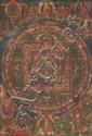 A 'thangka' of Sarvavid Vairochana Mandala. Tibet. 18th/19th century