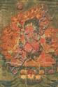 A thangka of Guru Dragpo. Eastern Tibet. 18th century.