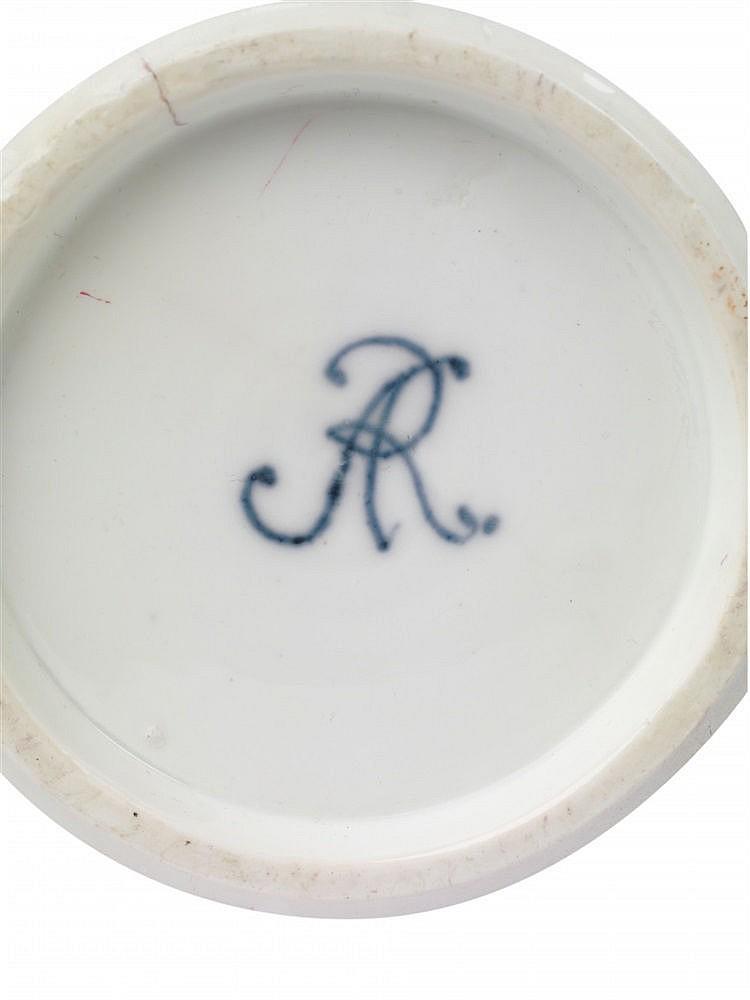 A Meissen Porcelain Augustus Rex Vase