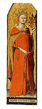 Matteo Giovannetti, Catherine of Alexandria and Saint Anthony the Great