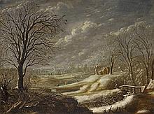 Daniel van Heil, Winter Landscape