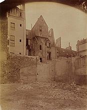 Jean Eugène Auguste Atget, Tour du Collège de Fortet, rue Valette, 1899