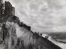 August Sander, Drachenfels und Rheintal (Drachenfels and the Rhine Valley), Before 1935