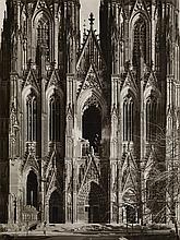 Karl Hugo Schmölz, Dom, zerstörte Westfassade, 1946