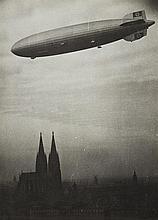 Theo Felten, Das Zeppelinluftschiff über Köln, 1930s