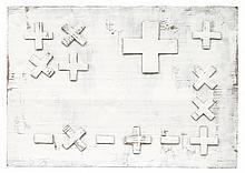 Herbert Zangs, Plus-Minus-Bild, 1975