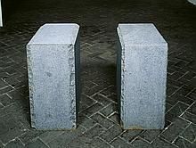 Ulrich Rückriem, Untitled (Granit bleu de Vire), 1991
