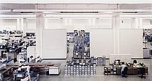Andreas Gursky, Siemens, Amberg, 1991