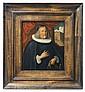 A portrait of the goldsmith Johannes Scheuchzer