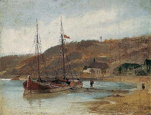 JOHANN FRIEDRICH ENGEL 1844 Bernkastel-Kues - 1921