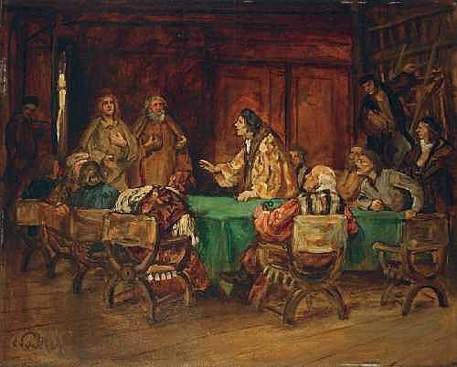 EDUARD VON GEBHARDT 1838 St. Johannis/Estland -