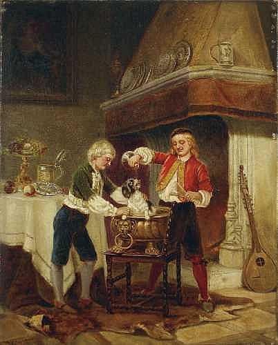 KARL JOSEPH LITSCHAUER 1830 Wien - 1871 Düsseldorf