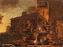 Adriaen van der Poel, Farmstead