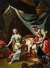 Giacinto Diano, attributed to, Judith and HolofernesYael and Sisera