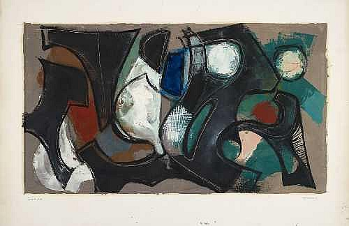 Contemporary Art: ROLF CAVAEL Königsberg 1898 -
