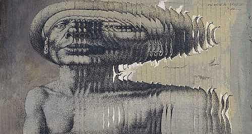 Contemporary Art: RUDOLF HAUSNER Wien 1914 - 1995