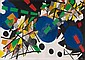 Contemporary Art: ERNST WILHELM NAY Berlin 1902 -, Ernst Wilhelm Nay, Click for value