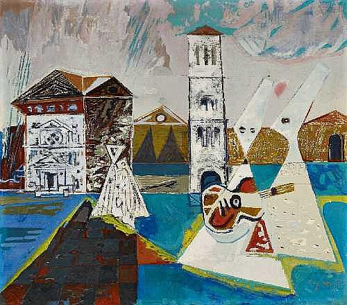 CURTH GEORG BECKER 1904 - Singen - 1972 RUSSIAN