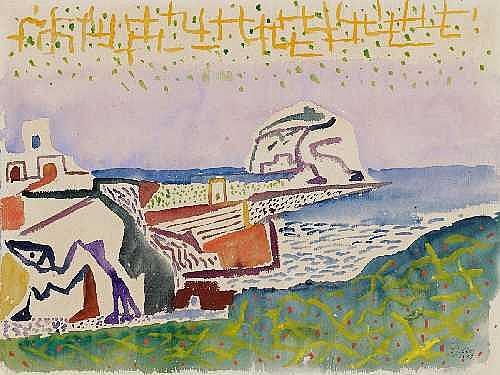WERNER GILLES Rheydt 1894 - 1961 Essen COASTAL