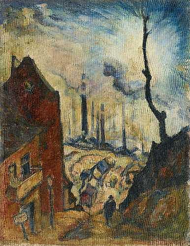 RICHARD GESSNER Augsburg 1894 - 1989 Düsseldorf
