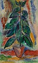 EBERHARD VIEGENER 1890 - Soest - 1967 RUBBER TREE, Eberhard Viegener, Click for value