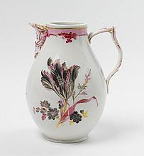 A large KPM porcelain coffeepot.