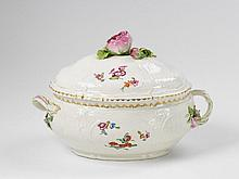 A KPM porcelain tureen made for General de la