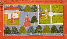 A Rajasthani Ramayana illustration. 18th century