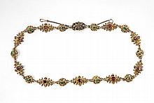 A Renaissance Style silver gilt, pearl and