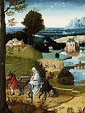 Flemish School of the early 16th century, The Flight into Egypt