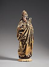 A figure of Pope Urban I attributed to Lorenz Luchsperger, late 15th century