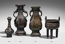 A bronze incense burner. Ming dynasty