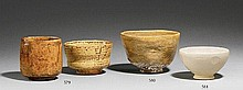 Two chawan. Edo period