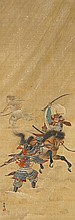 A painting by Shuntô. Meiji period