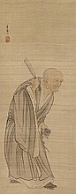 A hanging scroll by Watanabe Gentai (1749-1822)