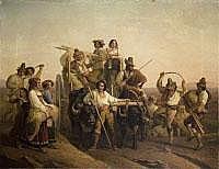 LÉOPOLD ROBERT , copy after 1794 La Chaux de Fonds